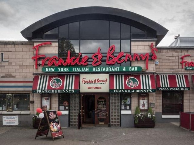 The Frankie and Benny's outlet at Robin Park, Wigan, has been closed for business since the lockdown began in mid-March