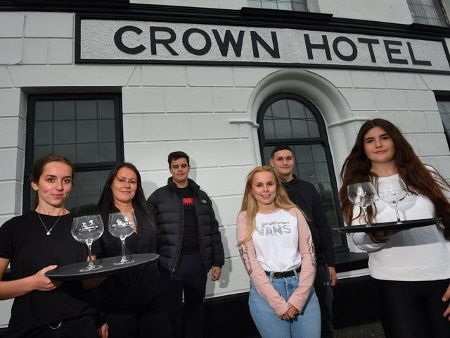 The Crown at Worthington gets ready to reopen