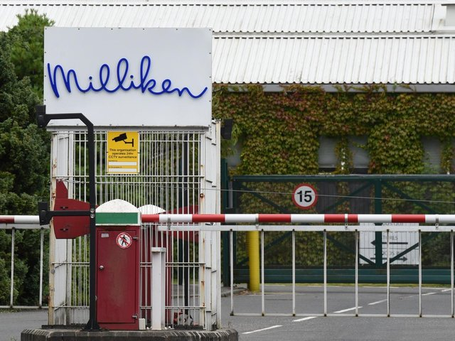 Milliken Industrials is in consultation over plans to let up to 61 jobs go