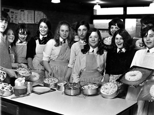Spotlight on schools - Up Holland High School in 1972