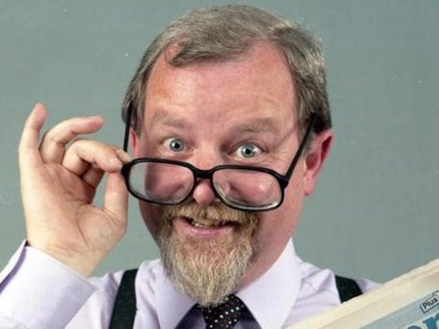 Mr Wigan Observer – Geoffrey Shryhane in 1982.