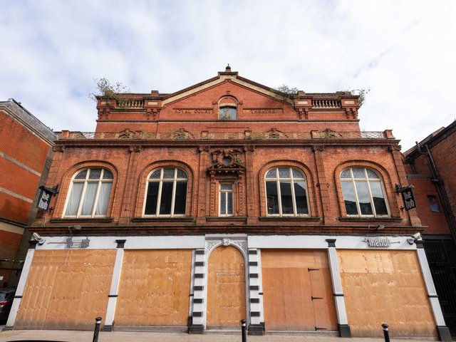 The former Royal Court Theatre on King Street, Wigan