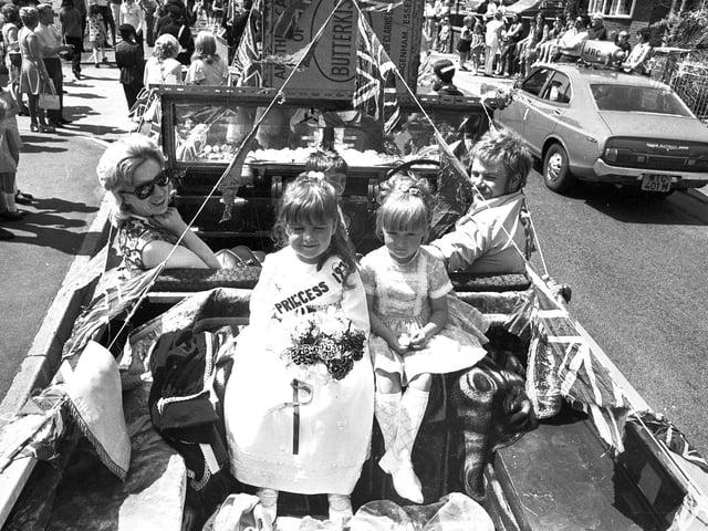 Ashton carnival parade in 1974