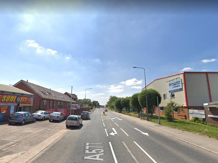 Schoolboy taken to hospital after collision with car on busy Wigan road