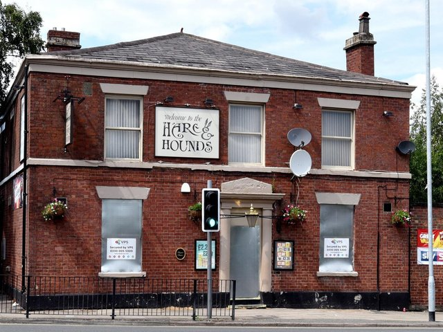 The Hare and Hounds on Billinge Road has been sold