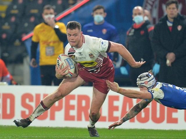 Joe Burgess in Grand Final action