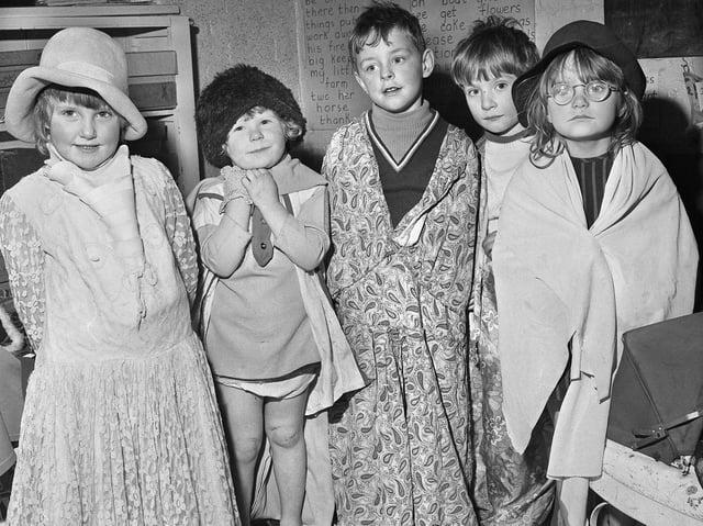 Reception children dress up at Aspull Methodist School.