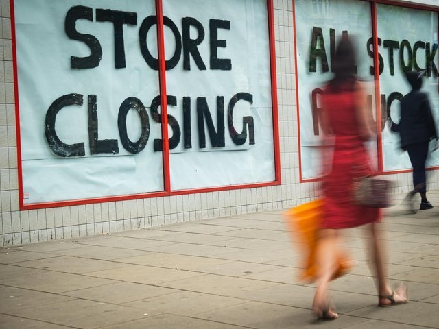 Jobs in department stores in Wigan have halved in five years. Photo: Shutterstock
