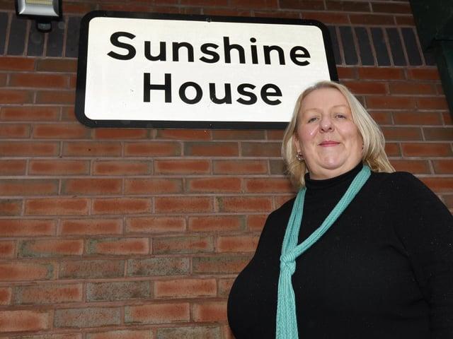 Centre manager Liz Heaton