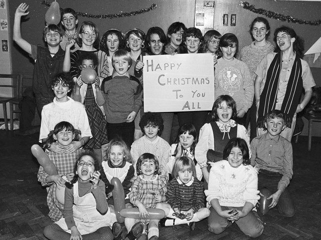 Merry Christmas everyone!  Wigan Thistle Society Christmas party December 1984