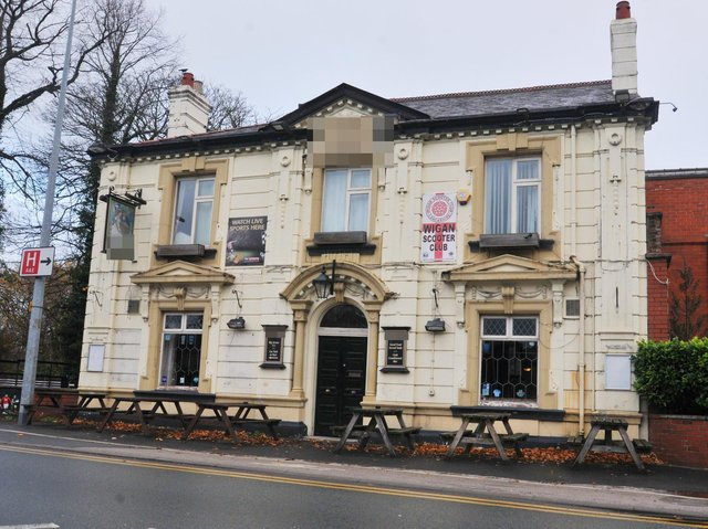 Starting with an easy one - this Wigan pub is set on a busy junction.