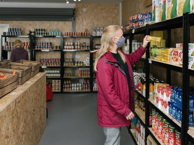 The community grocery will open on Monday, March 1