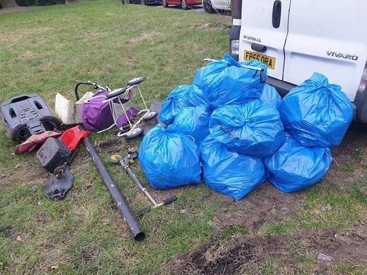 Some of the items discovered in Hindley