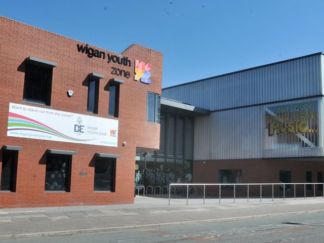 Wigan Youth Zone has been shortlisted for an award for its work in lockdown