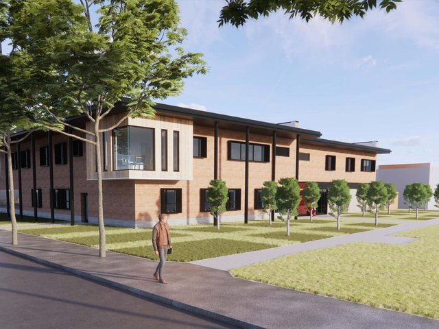 How the new health centre could look