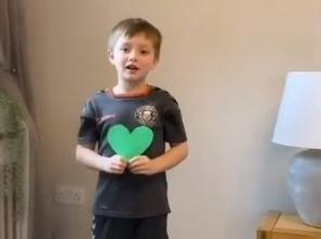 Pupil Mason reveals what he loves about himself
