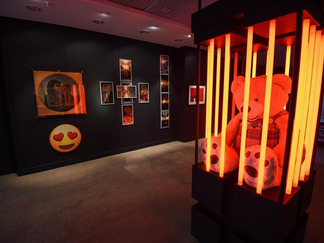 An exhibition at The Fire Within HQ in The Galleries in Wigan