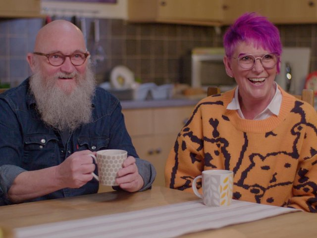 George and Sue Cook in the video