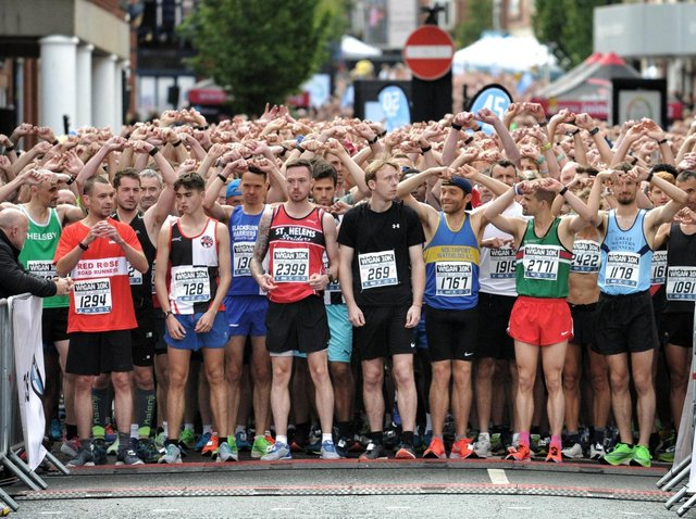 The start of the 2019 Wigan 10k