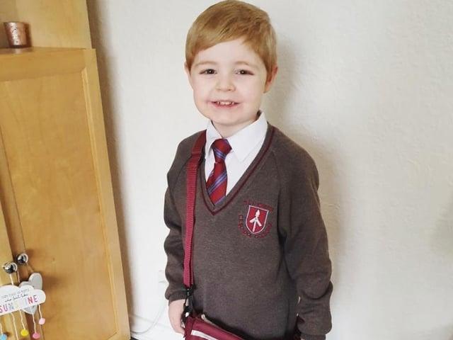 Zachary, 5, from Golborne