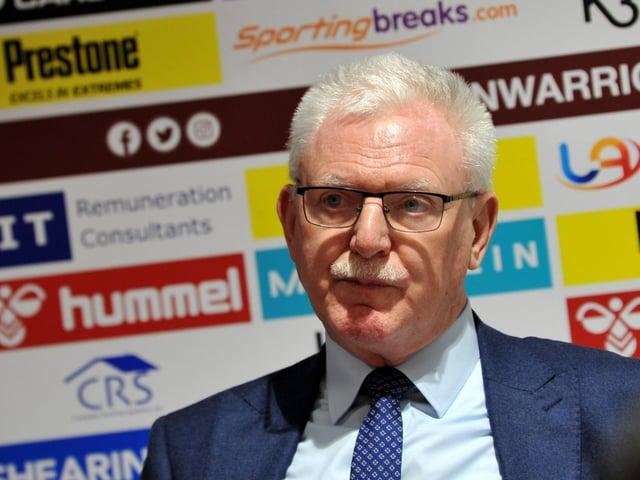 Wigan chairman Ian Lenagan