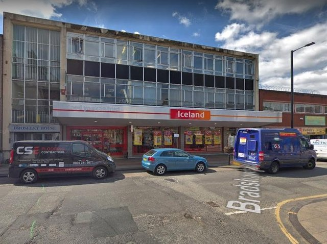 She admitted stealing from Iceland in Leigh. Pic: Google Street View
