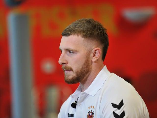 Jackson Hastings has returned to Wigan