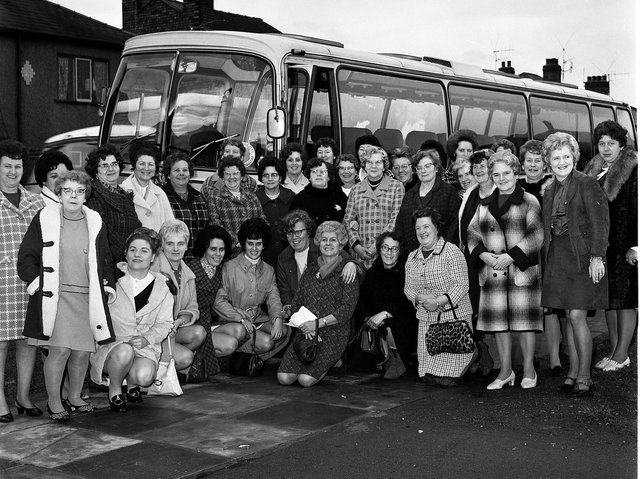 Ladies of Our Lady's RC Church set for a trip to London in 1970