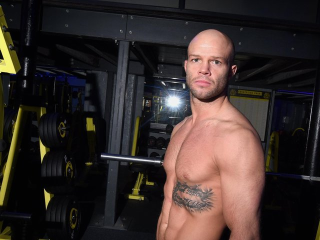 Mike Grundy at his Wigan gym
