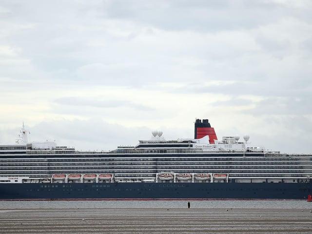 Cunard cruise liner Queen Elizabeth