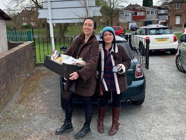 The Old Courts delivered hundreds of food parcels during lockdown