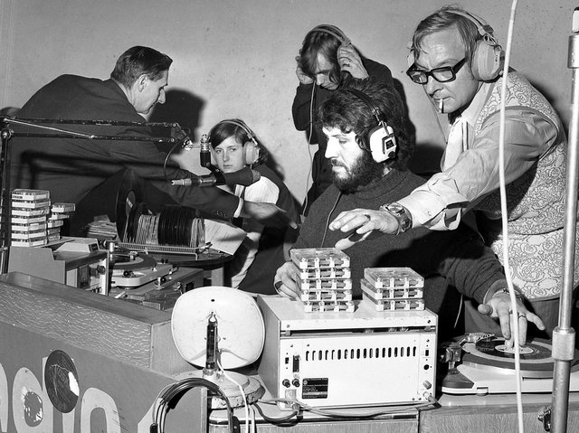 Wigan Casino Club hosted The BBC Radio One show with top DJs entertaining an army of adoring fans in 1970