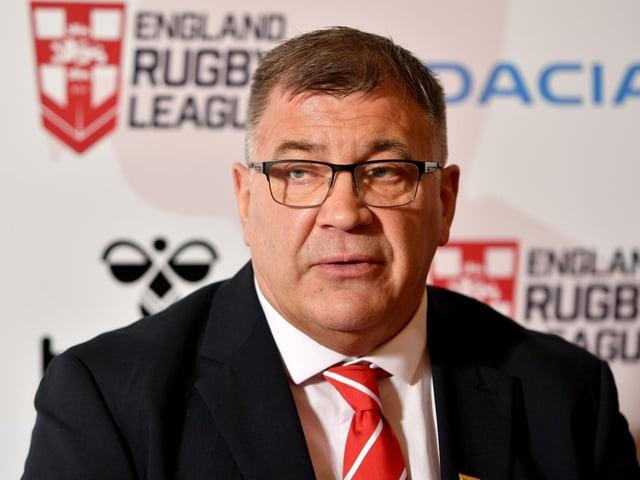 England coach Shaun Wane
