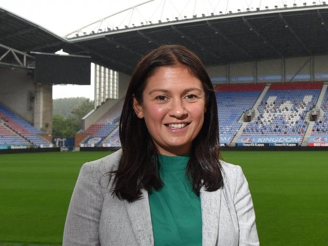 Lisa Nandy MP at the DW Stadium