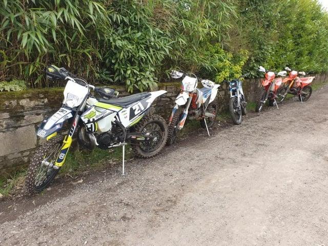 Off-road bikes seized in Aspull