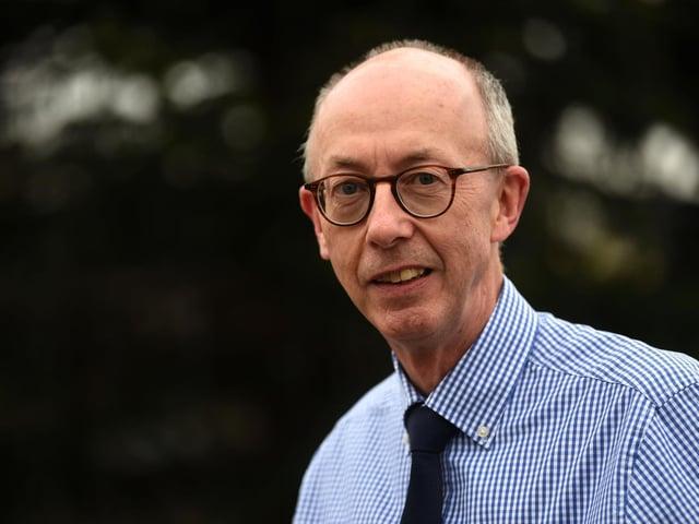 Retiring Wigan and Leigh Hospice chief executive Dr Alan Baron