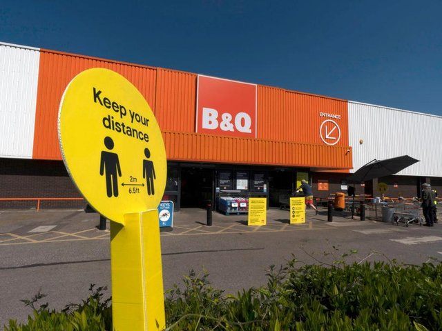 The owner of B&Q has cashed in on a DIY boom as millions of people stuck at home tried to improve their living conditions.