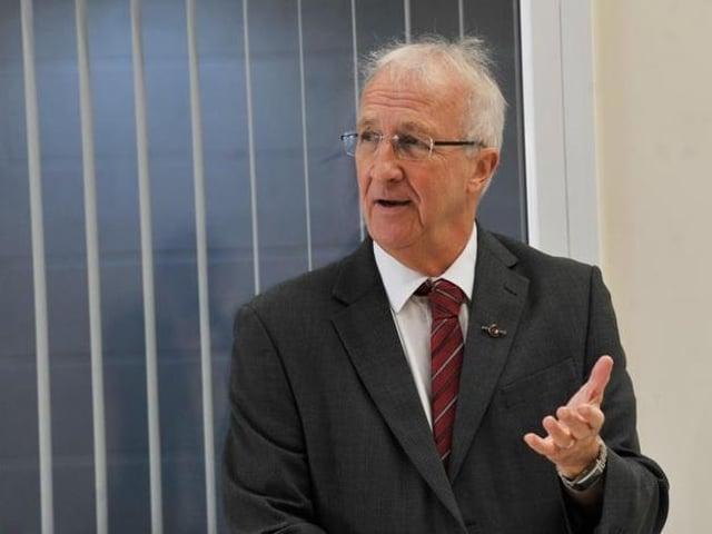 David Molyneux, leader of Wigan Council
