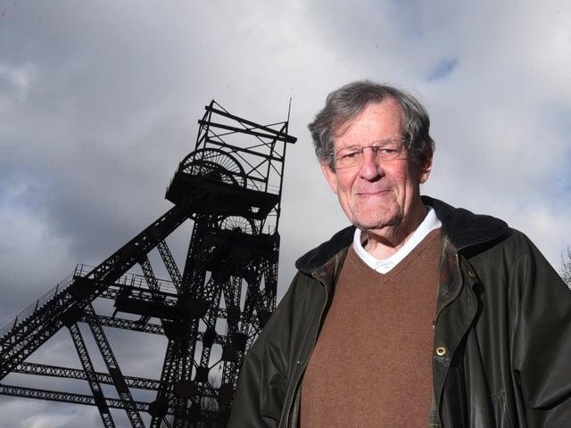 Trevor Barton MBE is bidding to become a councillor