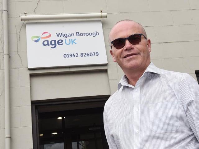 Age UK Wigan Borough chief officer John McArdle