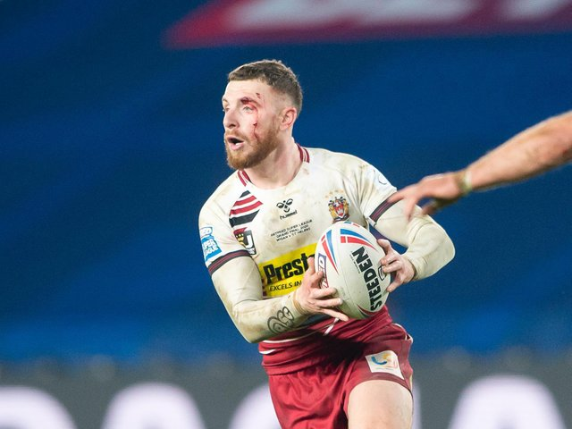 Jackson Hastings returned to Wigan earlier this month