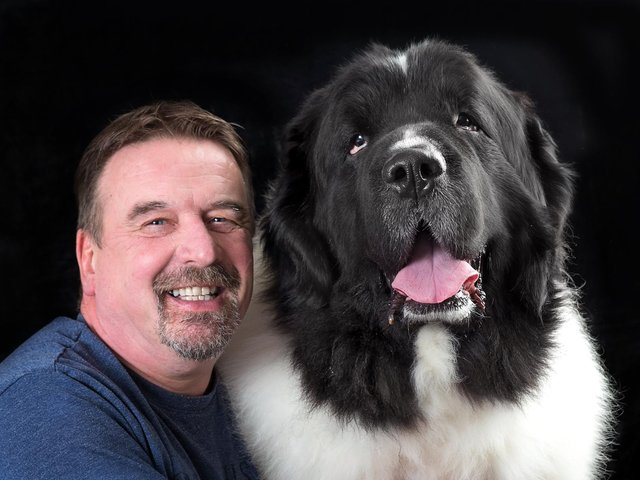 Mark Sanders and Monty