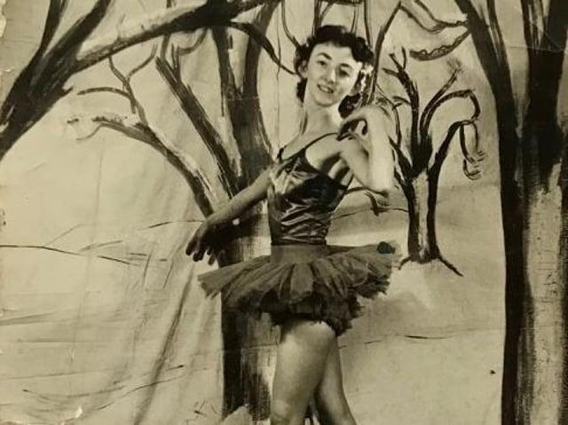 Miss Fenn in her younger days