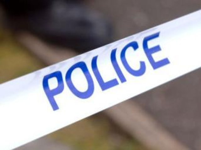 Police were called to a property in Standish Lower Ground on Wednesday