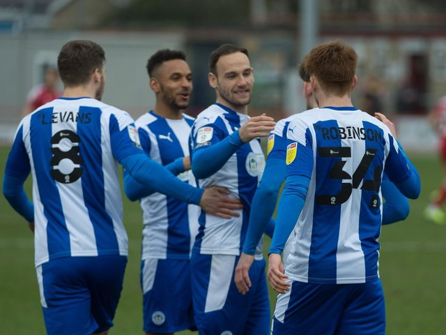 Latics are hoping to bounce back from last weekend's defeat at Accrington