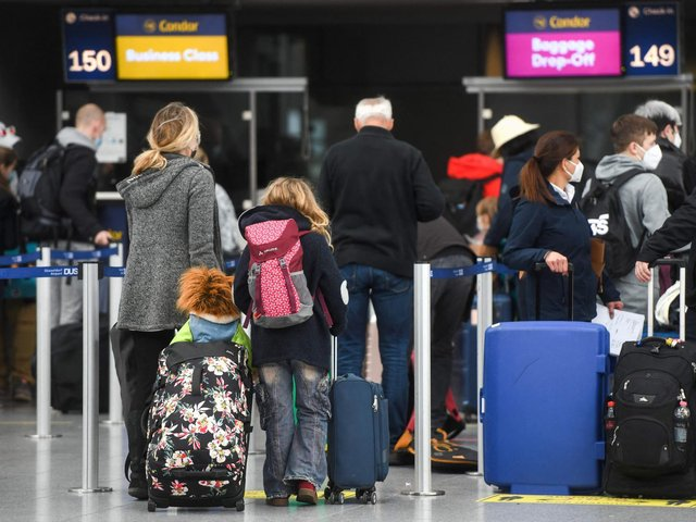 Under the new coronavirus regulations coming into force on Monday, people leaving England without a valid reason could face a £5,000 fine
