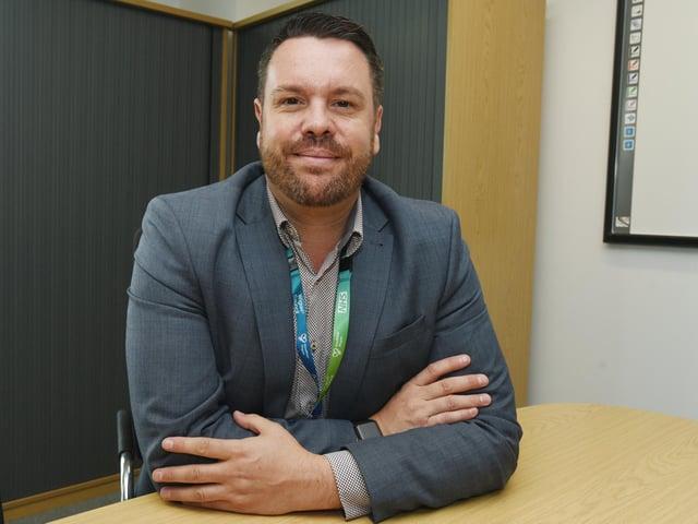 Prof Craig Harris, accountable officer for NHS Wigan Borough CCG
