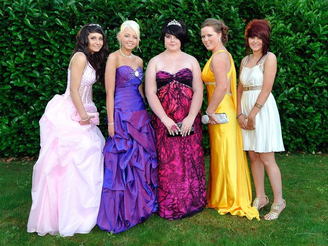 from left, Charlotte Mayes, Rebecca Williams, Kate Owen, Nikita Lee and Jade Boffey.