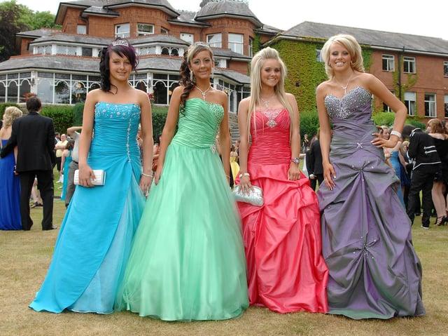 from left, Lauren Archer, Hollie Baxter, Ellen Yates and Zoe Parr