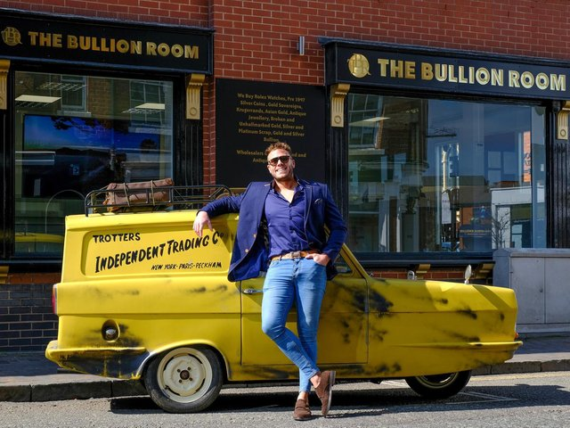 Dale Biddle, 32, snapped up the iconic van
